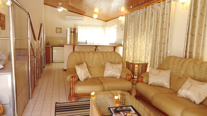 Family holiday unit for a beach holiday